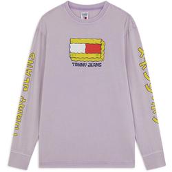 Tee Shirt X Spongebob Ls Violet - Tommy Jeans - Modalova