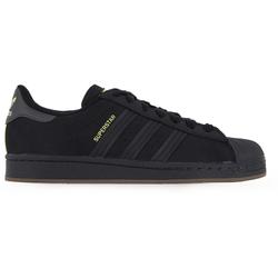 Superstar Nubuck Noir/jaune - adidas Originals - Modalova