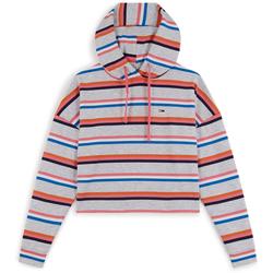 Hoodie Boxy Crop Stripes /// - Tommy Jeans - Modalova