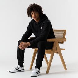 Hoodie Small Trefoil Noir - adidas Originals - Modalova