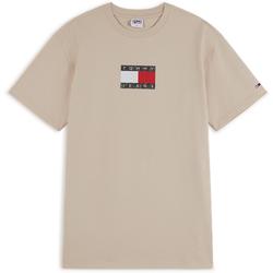 Tee Shirt Camo Flag Beige - Tommy Jeans - Modalova