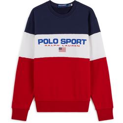 Sweat Colorblock Rouge/bleu/blanc - Polo Ralph Lauren - Modalova