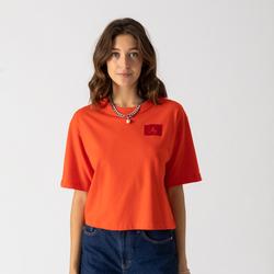 Tee Shirt Boxy Rouge - Jordan - Modalova