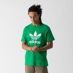 Tee Shirt Trefoil Vert/blanc - adidas Originals - Modalova