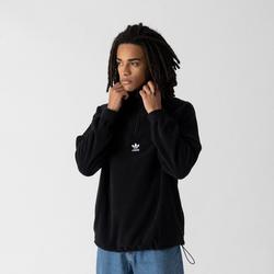 Sweat Crew Demi Zip Polaire Noir - adidas Originals - Modalova