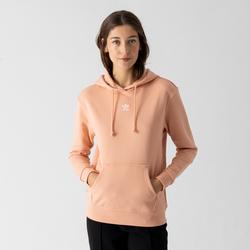 Hoodie Small Centered Logo Rose - adidas Originals - Modalova