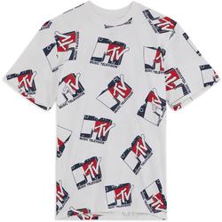 Tee Shirt X Mtv Beige/bleu - Tommy Jeans - Modalova