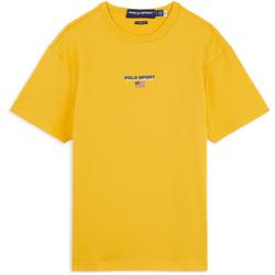 Tee Shirt Small Logo Jaune - Polo Ralph Lauren - Modalova