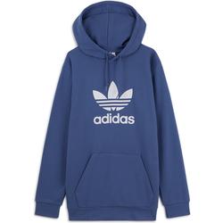 Hoodie Trefoil Bleu/blanc - adidas Originals - Modalova