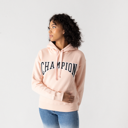 Hoodie University Rose/noir/blanc - Champion - Modalova