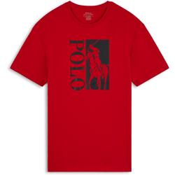 Tee Shirt Polo Active Rouge/noir - Polo Ralph Lauren - Modalova