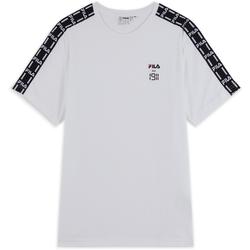 Tee Shirt Tape Est 1911 Blanc/noir - Fila - Modalova