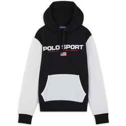 Sweat Sport Fleece Noir/blanc - Polo Ralph Lauren - Modalova