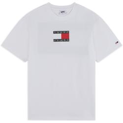 Tee Shirt Camo Flag Blanc - Tommy Jeans - Modalova
