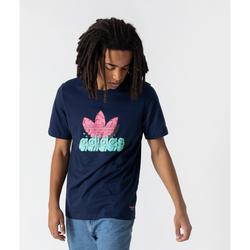 Tee Shirt 5 As Graphic Marine/rose - adidas Originals - Modalova