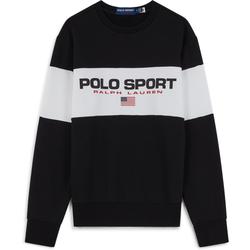 Sweat Sport Fleece Noir - Polo Ralph Lauren - Modalova