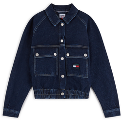 Jacket Crop Denim Cargo Bleu Denim - Tommy Jeans - Modalova