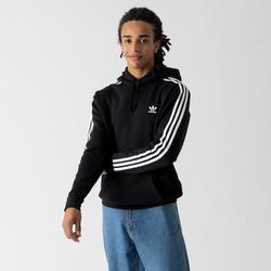 Hoodie 3 Stripes Noir - adidas Originals - Modalova