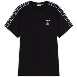 Tee Shirt Tape Est 1911 Noir/blanc - Fila - Modalova