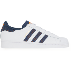 Superstar Denim Blanc/bleu/orange - adidas Originals - Modalova