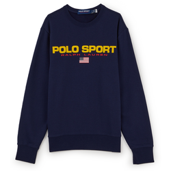 Sweat Polo Sport Marine/jaune - Polo Ralph Lauren - Modalova
