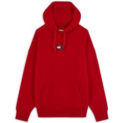 Hoodie Badge Logo Rouge - Tommy Jeans - Modalova