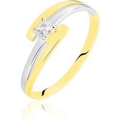 Bague Blandine Or Bicolore Diamant - Histoire d'Or - Modalova