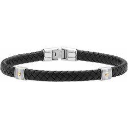 Bracelet Selwaae Or Acier Bicolore - Jourdan - Modalova