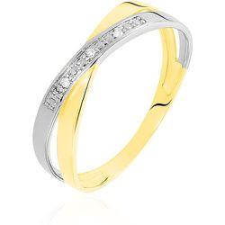 Bague Renda Or Jaune Diamant - Histoire d'Or - Modalova