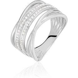 Bague Giseleae Or Blanc Diamant - Histoire d'Or - Modalova