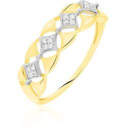 Bague Caterine Or Bicolore Diamant - Histoire d'Or - Modalova
