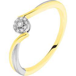 Bague Cerisette Or Jaune Diamant - Histoire d'Or - Modalova