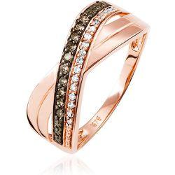 Bague Martika Or Rose Diamant - Histoire d'Or - Modalova