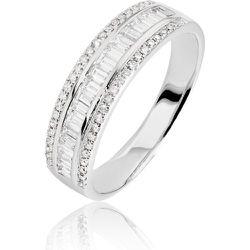 Bague Eugenie Or Blanc Diamant - Histoire d'Or - Modalova