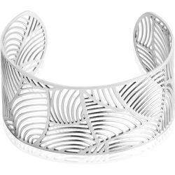 Bracelet Jonc Andor Acier Blanc - Imagine - Modalova