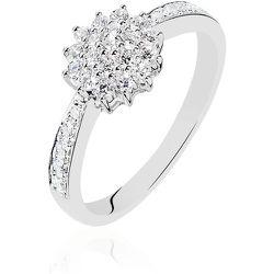 Bague Chou Or Blanc Diamant - Histoire d'Or - Modalova