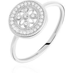 Bague Elfidiane Or Blanc Diamant - Histoire d'Or - Modalova
