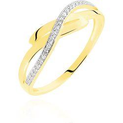 Bague Seraphia Or Jaune Diamant - Histoire d'Or - Modalova