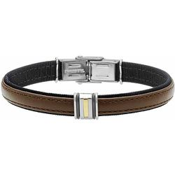 Bracelet Luciene Or Acier Bicolore - Jourdan - Modalova