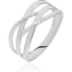 Bague Joassine Or Blanc Diamant - Histoire d'Or - Modalova