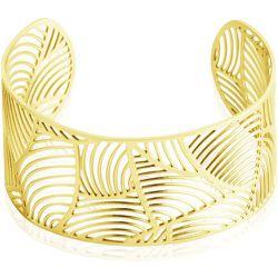 Bracelet Jonc Andor Acier Dore - Imagine - Modalova