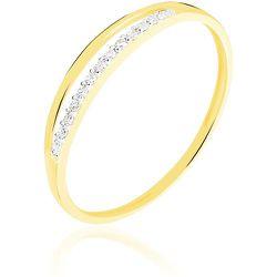 Bague Arslane Or Jaune Diamant - Histoire d'Or - Modalova