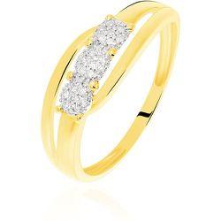 Bague Nolan Or Jaune Diamant - Histoire d'Or - Modalova