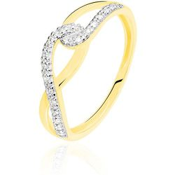 Bague Osanna Or Jaune Diamant - Histoire d'Or - Modalova