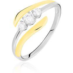 Bague Mayline Or Bicolore Diamant - Histoire d'Or - Modalova