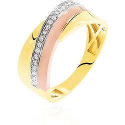 Bague Rosabella Or Diamant - Histoire d'Or - Modalova