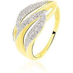 Bague Atlantide Or Jaune Diamant - Histoire d'Or - Modalova