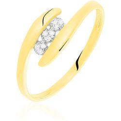 Bague Delphine Or Jaune Diamant - Histoire d'Or - Modalova