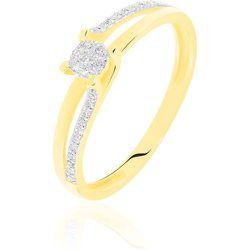 Bague Josane Or Jaune Diamant - Histoire d'Or - Modalova