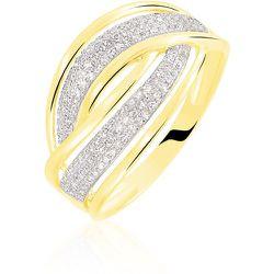 Bague Enora Or Jaune Diamant - Histoire d'Or - Modalova